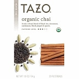 Tazo Black Tea, Organic Chai