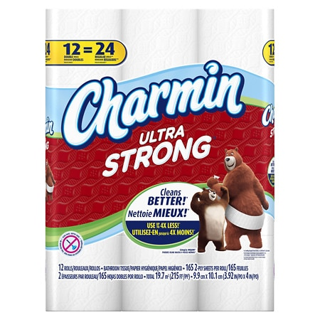 Charmin Basic Toilet Paper Double Rolls