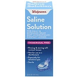 Walgreens Saline Solution
