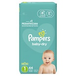 Pampers Baby Dry Diapers Size 1 Jumbo Pack
