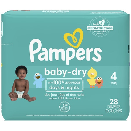 Theyhave used the swaddlers, then cruise rs and now Baby Dry diapers.