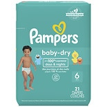 Pampers Baby Dry Diapers Size 6 Jumbo Pack
