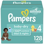 Online Coupon: Click & save $4 on one box of Pampers