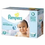 Pampers Swaddlers Sensitive Diapers Size 3 Economy Pack Plus