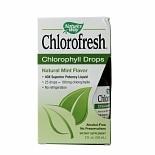 Nature's Way Chlorofresh Chlorophyll Drops Natural Mint