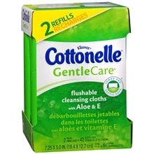 Cottonelle Gentle Care Moist Wipes Refill
