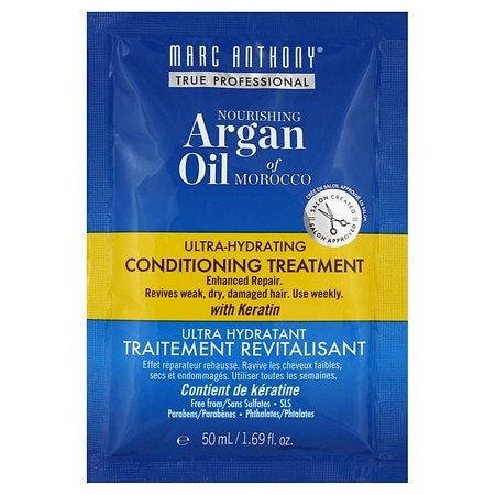 Oil of Morocco Argan Oil Sulfate Free Deep Hydrating Conditioning Treatment by Marc Anthony True Professional
