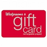 Walgreens $50 Rechargeable Gift Card