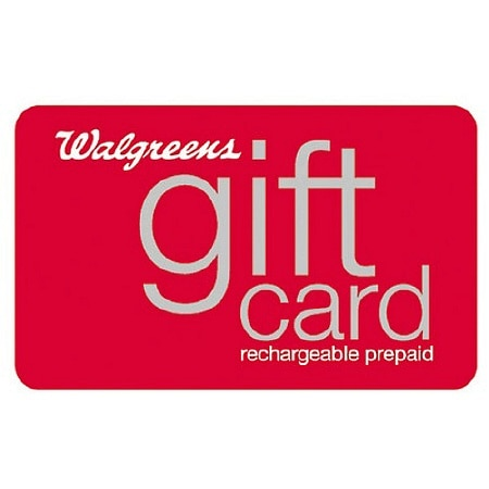 Walgreens $100 Rechargeable Gift Card