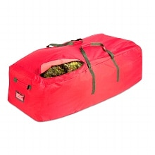 Honey Can Do Canvas Artificial Tree Rolling Storage Bag Red And Green