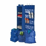 Honey Can Do Back To School Home Organization Kit Blue