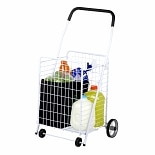 Honey Can Do 4 Wheel Utility Cart White