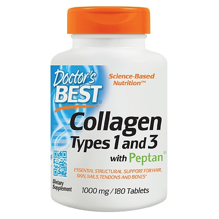 Doctor's Best Best Collagen Types 1 & 3, 1000mg, Tablets