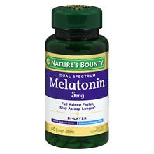 Nature's Bounty Dual Spectrum Bi-Layer Melatonin, Tablets