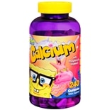 Spongebob Squarepants Calcium Gummies