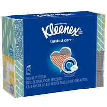 Kleenex Facial Tissue Upright Bundle