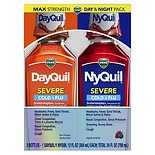 Vicks DayQuil & NyQuil Severe Cold & Flu Liquid Convenience Pack