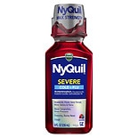 Vicks Nyquil Severe Cold & Flu Nighttime Relief Liquid Berry