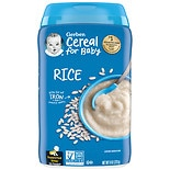 Gerber Single Grain Cereal Rice