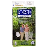 Jobst SupportWear SoSoft Mild Compression Socks, Knee High 8-15mmHg Medium White