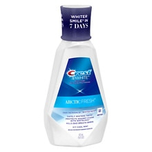 Crest 3D White Arctic Fresh Multi-Care Whitening Rinse Mint