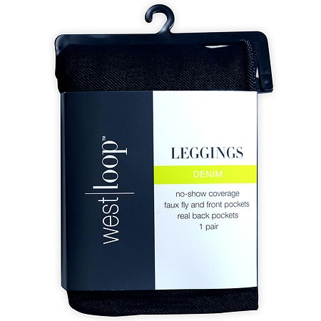 West Loop Leggings L Dark Demin