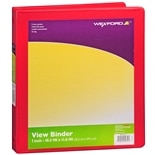 Wexford View Binder 1 inch 1 inch Assorted