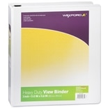 Wexford Heavy Duty View Binder 2 inch Assorted