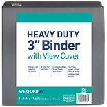 Wexford Heavy Duty View Binder 3 inch Assorted