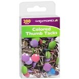 Wexford Colored Thumb Tacks Assorted