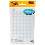 Post-it Grid Paper Note Pads White