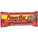 PowerBar Triple Threat Energy Bar Chocolate Peanut Butter