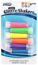 ArtSkills Glitter Shakers 6 Pack Assorted