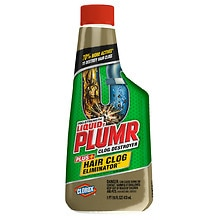 Clorox Liquid-Plumr Pro-Strength Hair Clog Eliminator