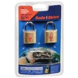 Safe Skies TSA Luggage Locks