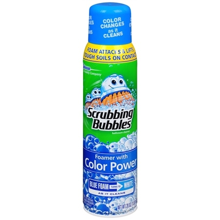 Scrubbing Bubbles Foamer with Color Power Bathroom Cleaner