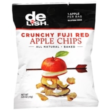 Good & Delish Crunchy Apple Chips Fuji Red