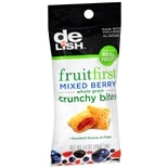 Good & Delish FruitFirst Whole Grain Crunchy Bites Mixed Berry