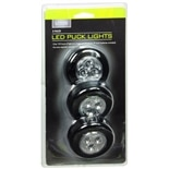 Living Solutions LED puck lights