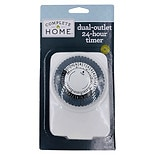 Dual Outlet 24-Hour Timer White