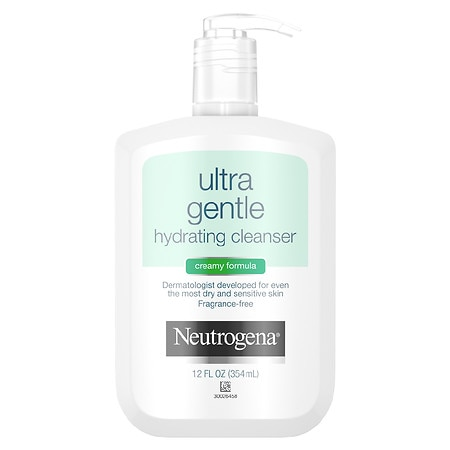 Ultra Gentle Hydrating Cleanser, Creamy Formula