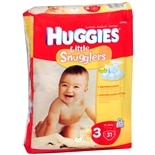 Huggies Little Snugglers Diapers Step 3 Jumbo