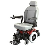 Shoprider 6 Runner 14 Powerchair Red