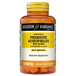 Mason Natural Chewable Acidophilus with Bifidus Wafers Strawberry