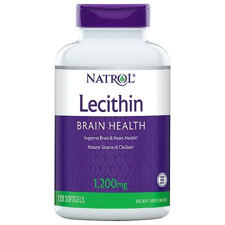 Natrol Soya Lecithin 1200mg, Softgels