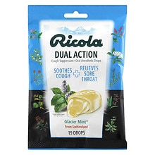 Ricola Cough Suppressant Drops, Glacier Mint Glacier Mint