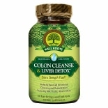 Well Roots Colon Cleanse & Liver Detox, Softgels