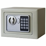 Stalwart Electronic Deluxe Digital Steel Safe Tan