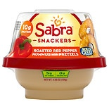 Sabra To Go Hummus with Pretzels Roasted Red Pepper
