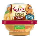 To Go Hummus with Pretzels Roasted Garlic